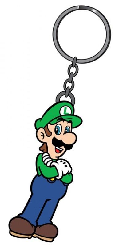 Nintendo Luigi Rubber Keychain | Keychains | The A Factor Shop