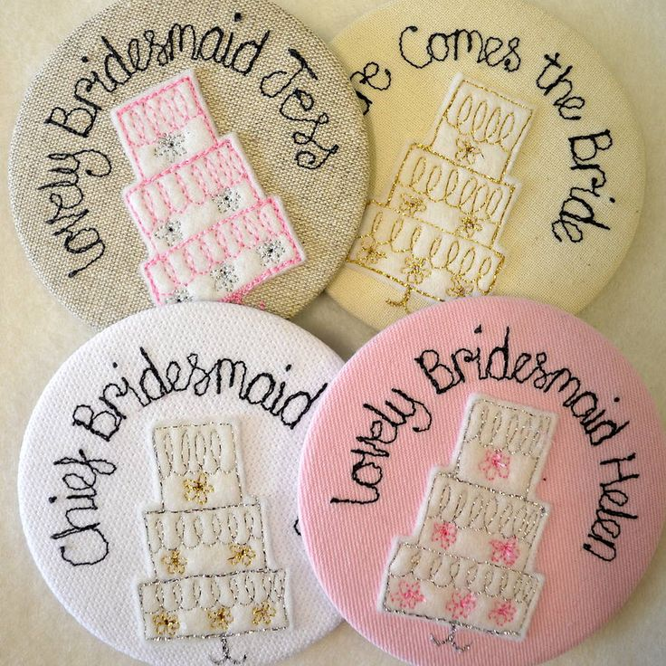 personalised wedding cake mirror by sew very english | notonthehighstreet.com