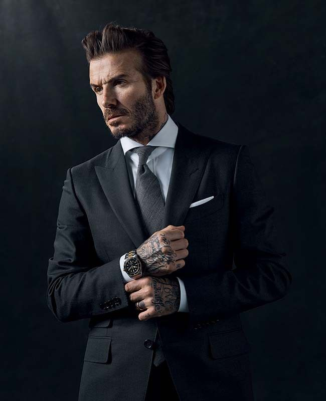 David Beckham scores new role as face of Tudor   #BornToDare #tudorwatch #blackbay #davidbeckham #swissmade #tudorblackbay #luxuryes