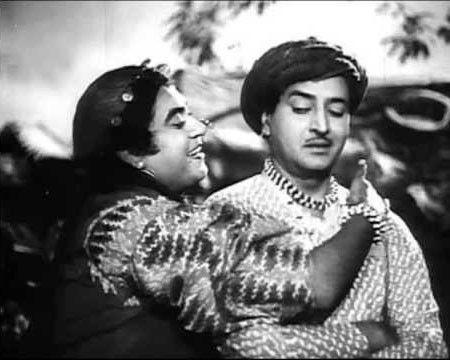 Kishore Kumar with pran