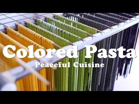▶ Colored Pasta (vegan) ☆ カラフルパスタの作り方 - YouTube
