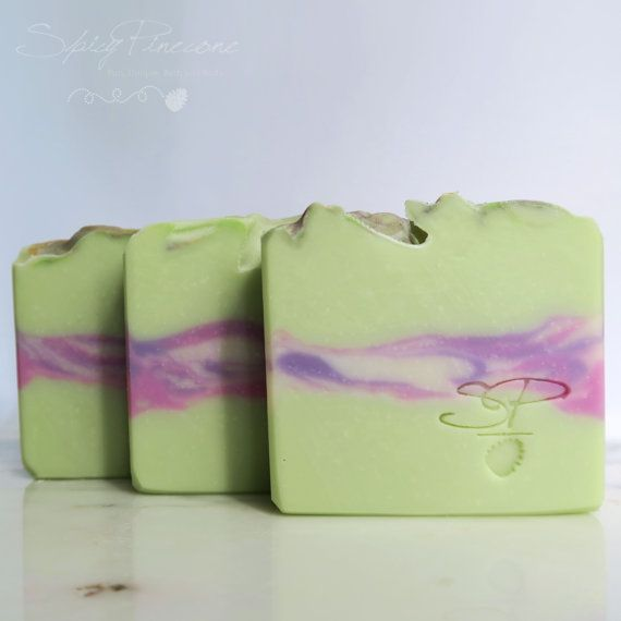 Peppermint & Lavender - Handmade Cold Process Soap with Lavender and Peppermint…