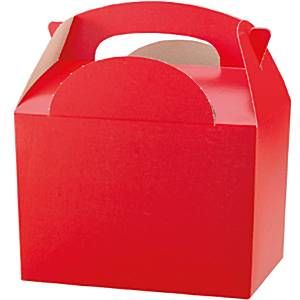 Red Party Box - 15cm