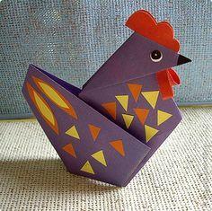 chicken origami