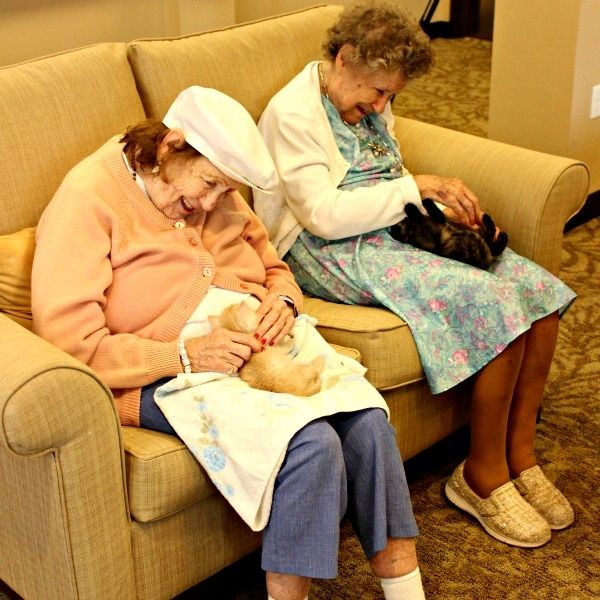 How one nursing home is helping its residents regain a sense of purpose.