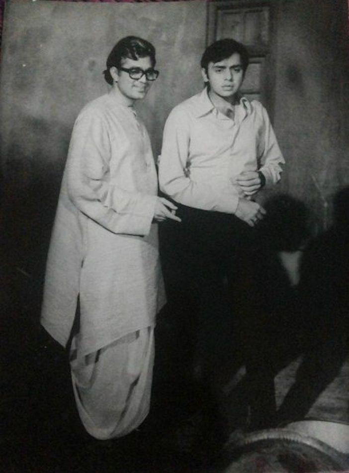 Rajesh Khanna Vinod Mehra in Amar Prem