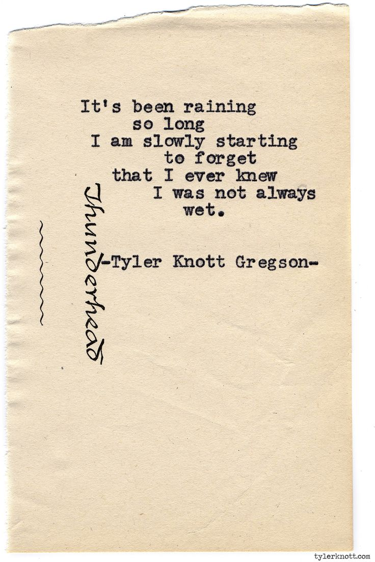 Typewriter Series #768 by Tyler Knott Gregson.  How I feel about this year...gosh, will it never end?