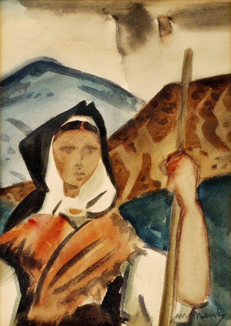 Martin Benka  1888-1971  Hrabačka