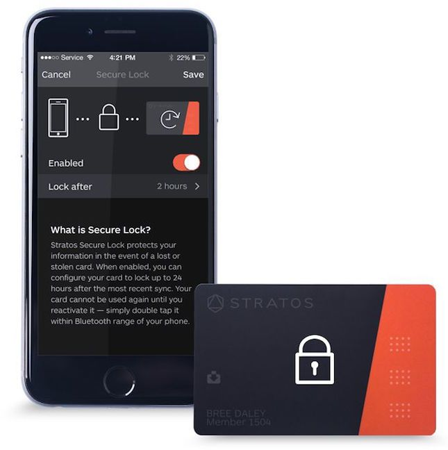 Ditch your wallet and downsize to just one card.