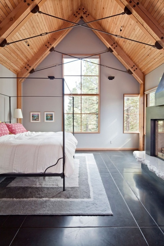 love the wood ceiling