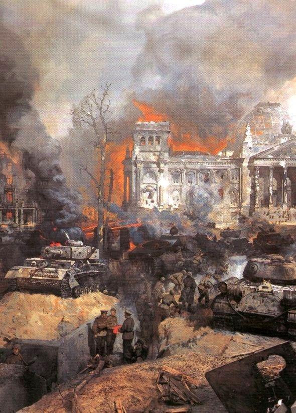 V. Sibirsky. Storm of Berlin.
