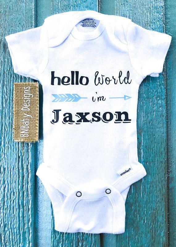 Baby Girl Onesie Custom Name Onesie Baby Boy Onesie Baby Jumper Baby Bodysuit Cute Baby Baby Clothes Personalized Onesie