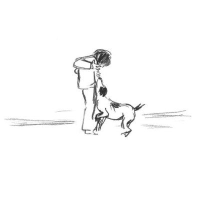 A Day, a Dog, by Gabrielle Vincent  There isn't an artist alive who can match Gabrielle Vincent's sensitive rendering of animals. In a few confident lines, she nails the lift of a dogs's ears, the droop of his tail, the set of his back, which are exactly those of dogs we have known and loved.
