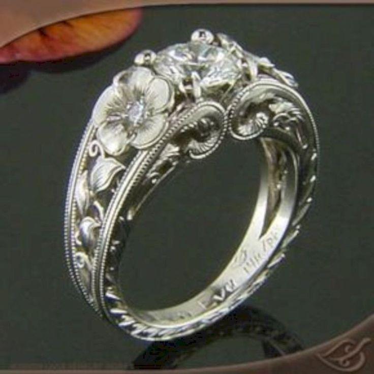 25 cute unusual wedding rings ideas on pinterest unusual cool 60 unique and unusual wedding rings ideas httpsviscawedding junglespirit Gallery