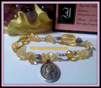pulsera del arcangel gabriel-pulseras de arcangeles-pulsera de angeles-pulsera del angel
