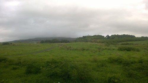 in Hana, Fagan's cross at a distance