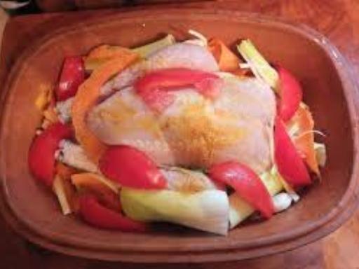 poivre, pomme de terre, oignon, poulet, sel, herbes de provence
