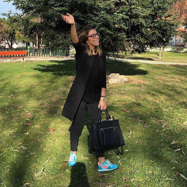 Nos vamos de cumple! #blueandblackstyle #fashion #blogger #style #blueandblack