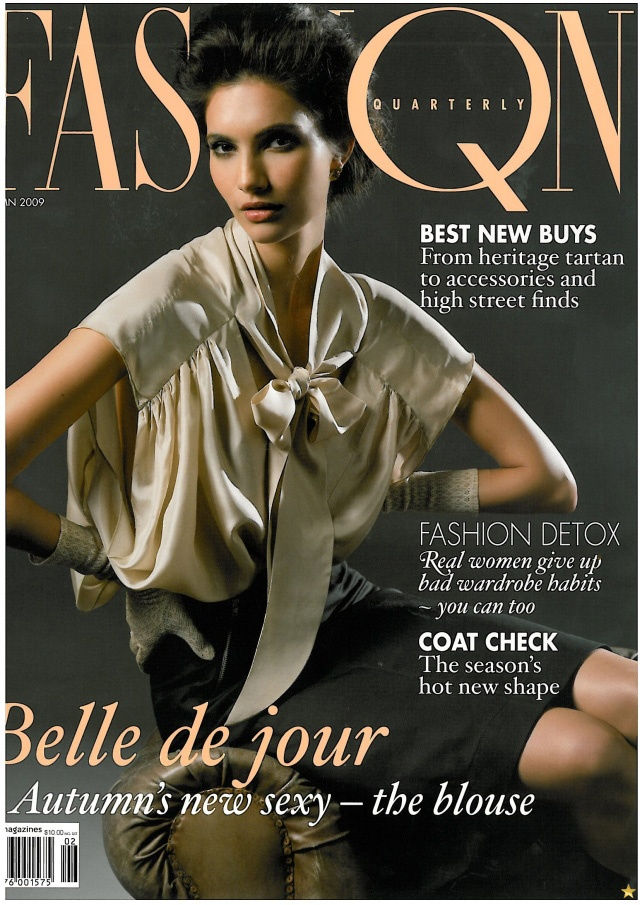 Theresa Moore: Theresa Moore on the cover of Fashion Quarterly Magazine. http://www.theresamoore.com