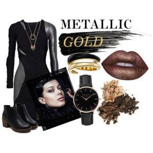Metallic and Gold
