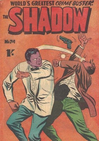 The Shadow (Frew, 1954 series) #74  ([1960?])