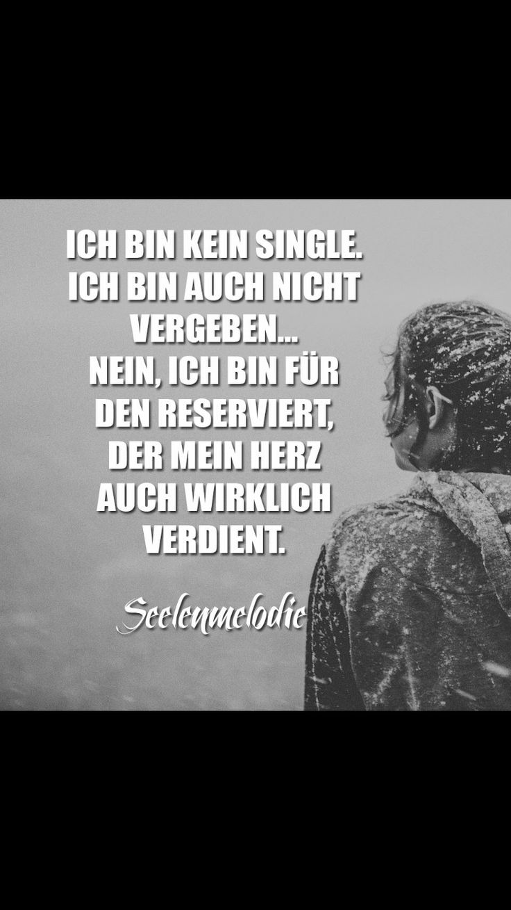 Ich bin kein Single