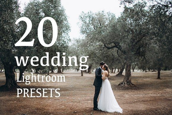 TOP20 WEDDING Lightroom Presets 2017 by Pavel Melnik Photography on @creativemarket