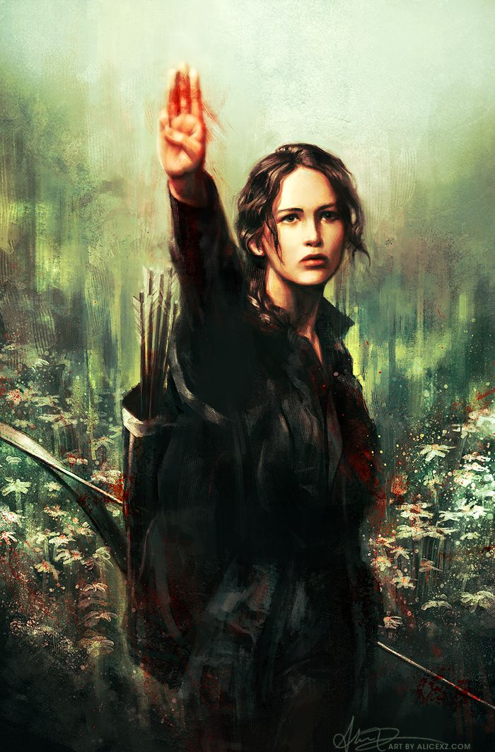 Katniss Everdeen by Alice X. Zhang