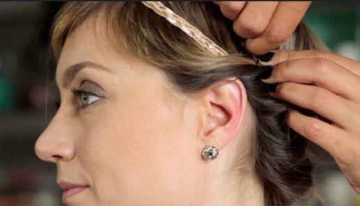Marion Blush : blog maquillage & coiffure: 3 coiffures sur cheveux courts, fins et raides... ...
