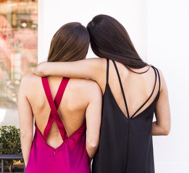 [ LOOK DEL DIA ]  Modelos: @julietasoe @maguiauge Ph: @lucarnevaleph MakeUp: @agostinabadaraccomakeup Styling: @belubarrague #SoydeGrecia #Fashion