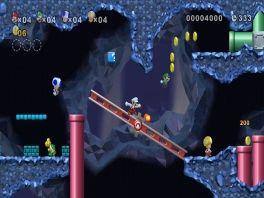 Wereld 1-2: het eerste underground level van New Super Mario Bros Wii!
