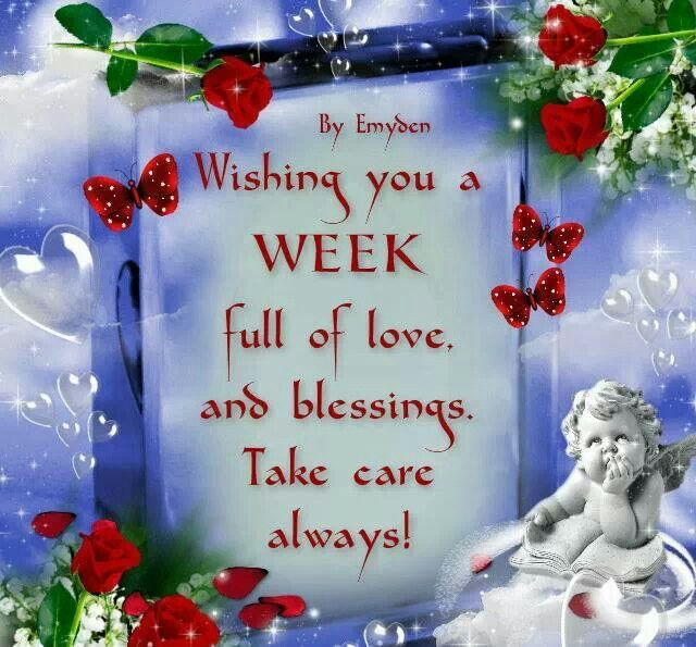Image result for have a wonderful week ahead