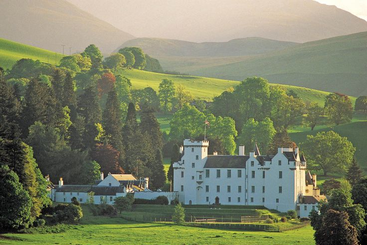 White Blair Castle near Pitlochry is a breathtaking sight! Description from pinterest.com. I searched for this on bing.com/images
