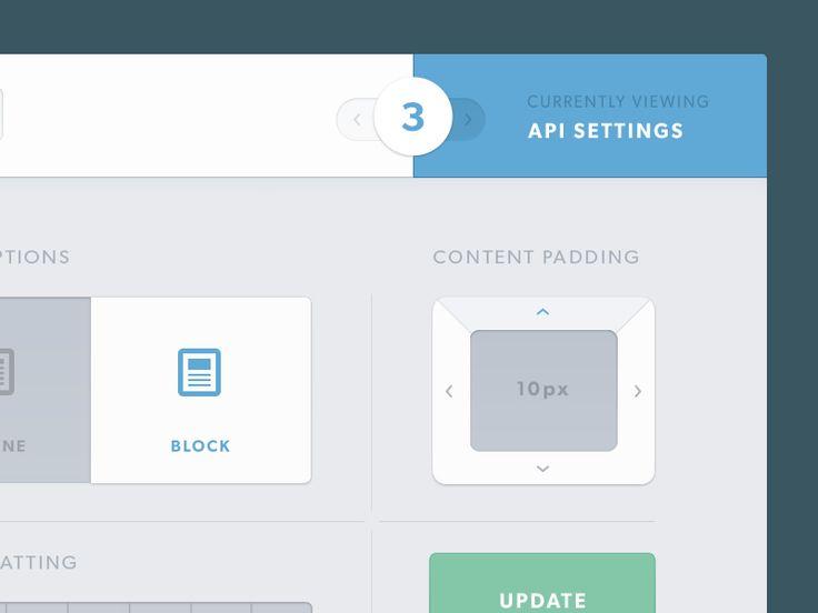 API Editor Dashboard