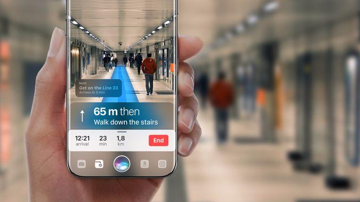 Augmented Reality - Wird das iPhone diese irre Funktionbald haben?