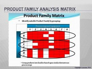 Product Family Selection