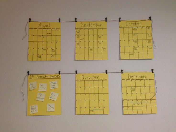 35 best Wall Calendars images on Pinterest | Offices, Calendar ideas ...