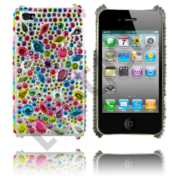 Marilyn (Rainbow Drops) Deksel til iPhone 4/iPhone 4S