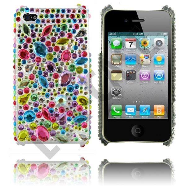 Marilyn (Rainbow Drops) Deksel til iPhone 4/iPhone 4S