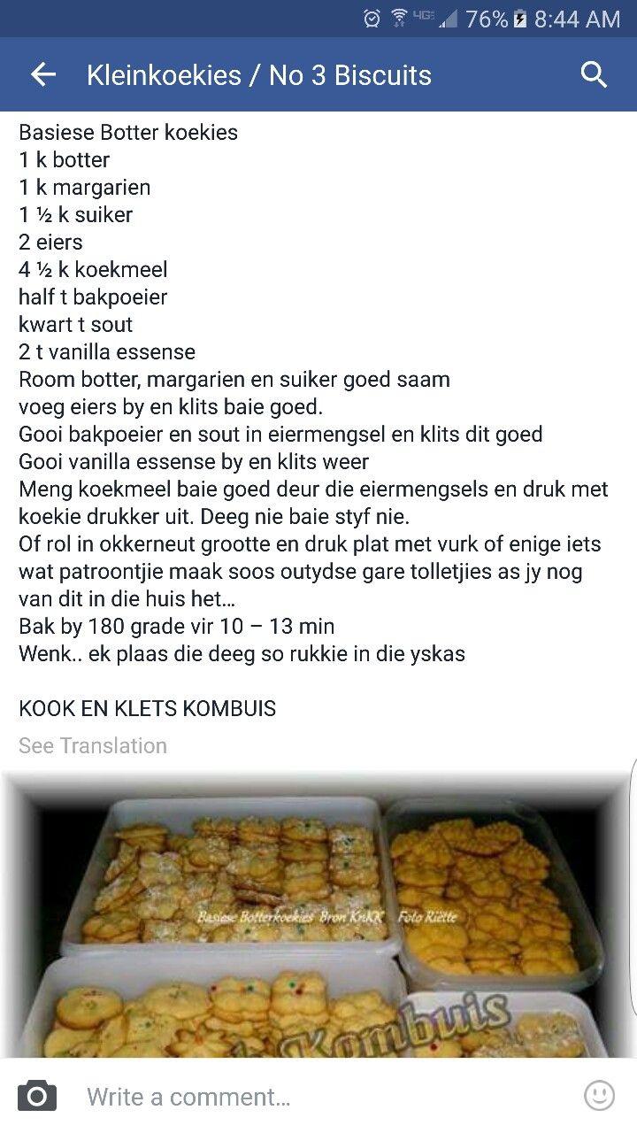 Botter koekies