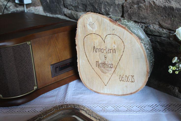 DIY - Liebe in Holz gebrannt // *Hochzeit* *Wedding*