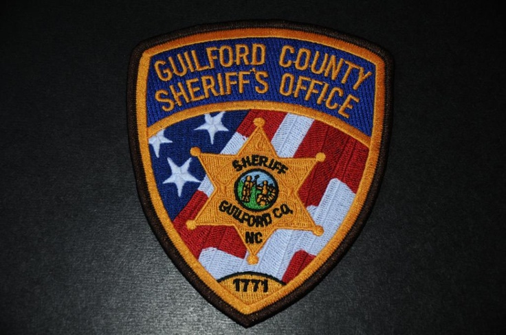 Guilford County Sheriff Patch, North Carolina (Current