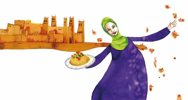 Sotto lo stesso cielo, in Marocco dalla zia di Selma