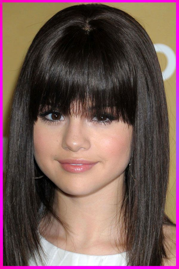 Cuttest Short Bangs Hairstyles For Womens With Round Face In 2020 Round Face Hairstyles Long Bangs For Round Face Long Hair Styles