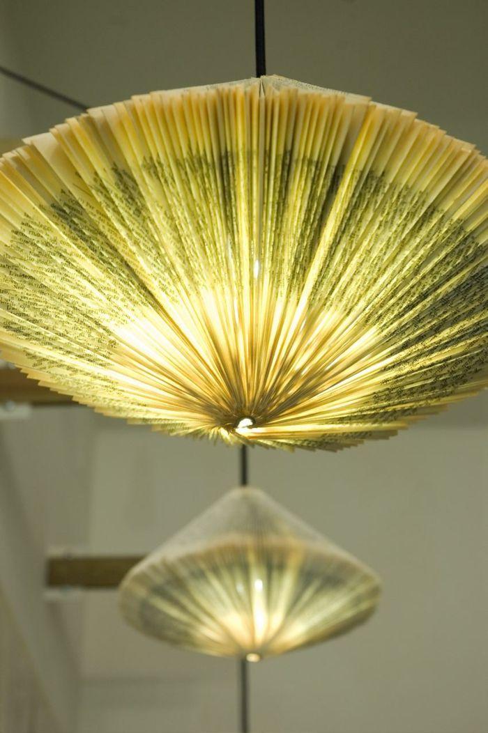 Diy Lampe 40 Verlockende Und Interessante Bastelideen Lampenschirm Selber Machen Lampenschirm Basteln Lampe