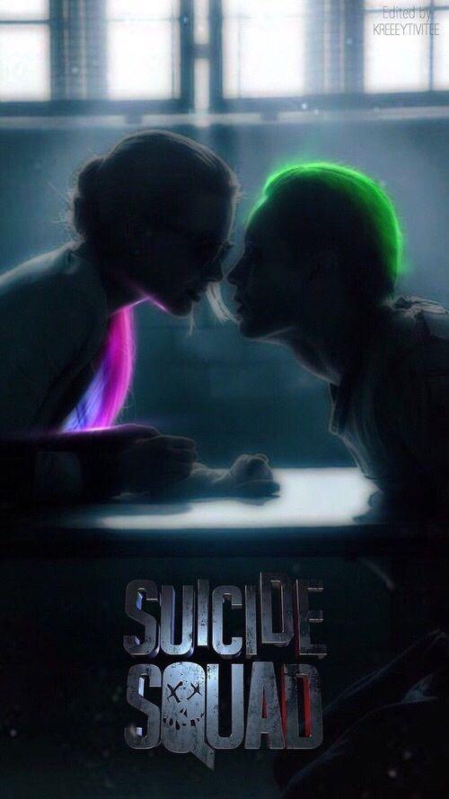 Imagen de joker, suicide squad, and harley quinn