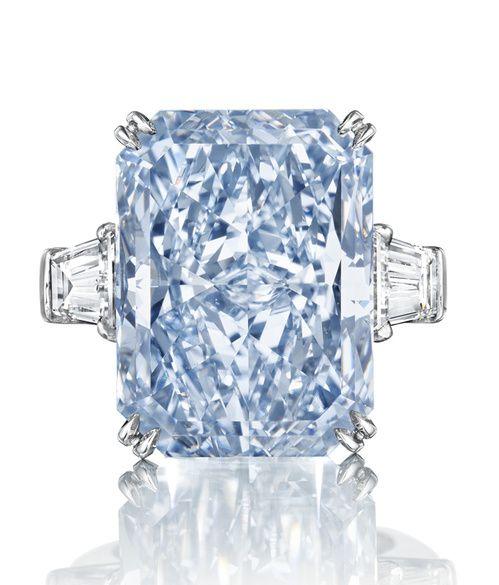 La vente évènement : le diamant bleu 'The Cullinan Dream' aux enchères