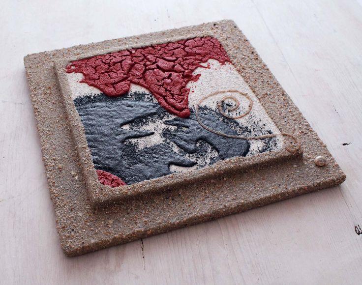 Quadro di sabbia. Arte di sabbia. Quadro arredo casa. Artigianato sabbia, mare. Sabbia, mare, arte di Fantasiedisabbia su Etsy