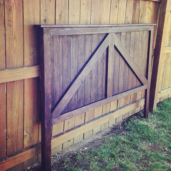 Twin Full Queen King Size Barn Door Headboard Barndoor