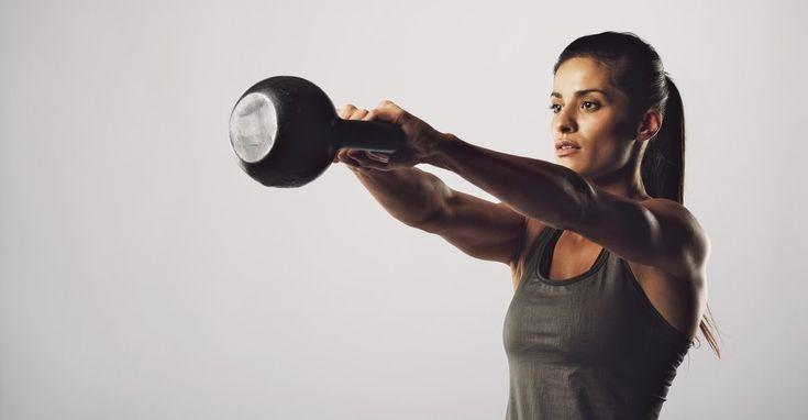 Exercícios de Força Muscular com Kettlebell para Corredores - Corre Salta e Lança